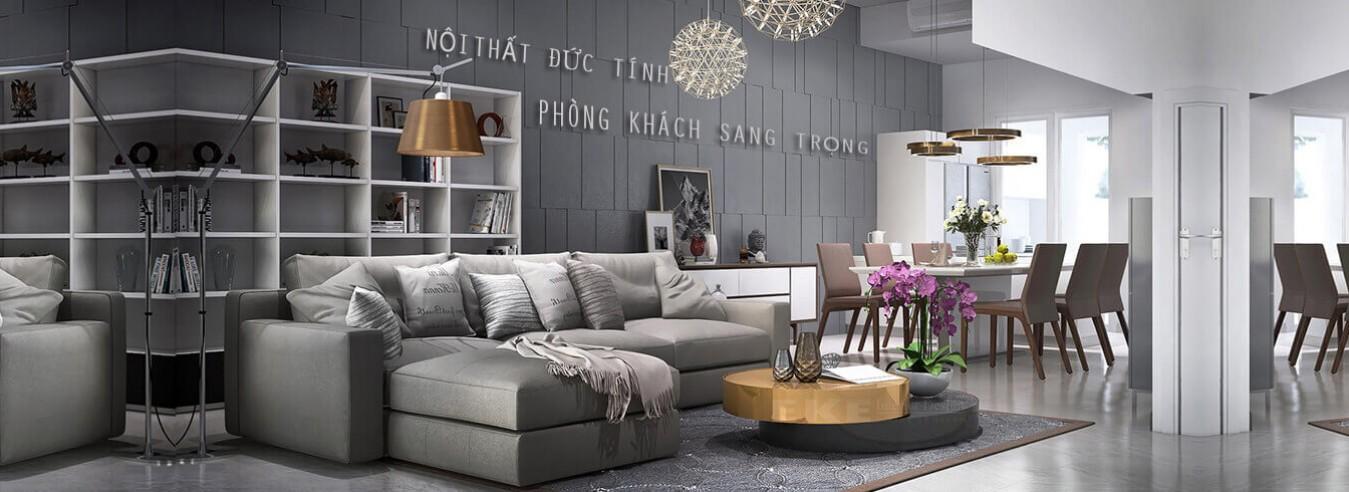 Nội thất phòng khách đẹp giá rẻ  | Nội Thất Đức Tính