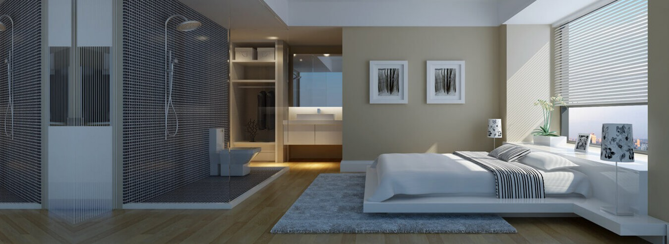 Phòng ngủ hiện đại sang trọng - nội thất đức tính