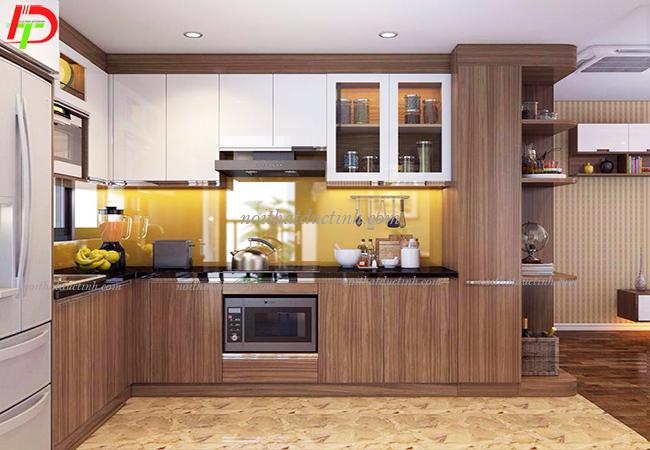 tủ bếp gỗ công nghiệp cao cấp