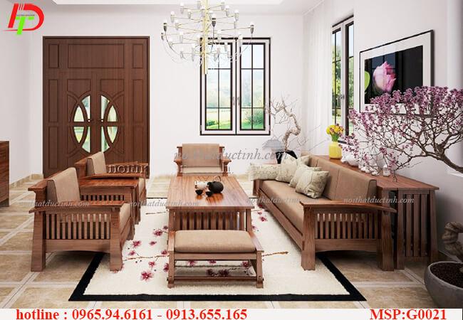 Bộ sưu tập những mẫu thiết kế nội thất bàn ghế gỗ phòng khách đẹp 2015