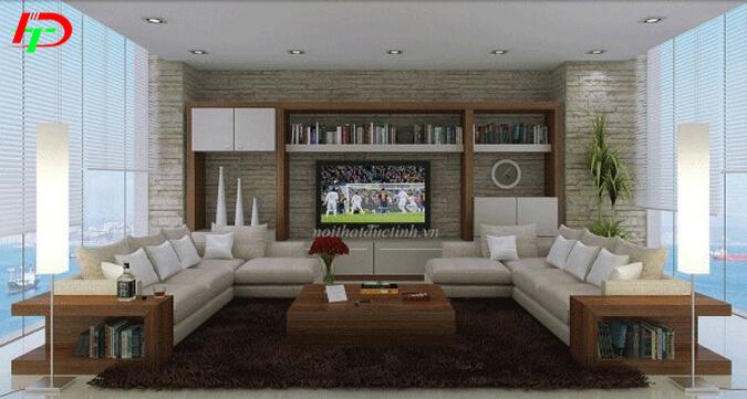 Sofa gỗ phòng khách hiện đại BG30