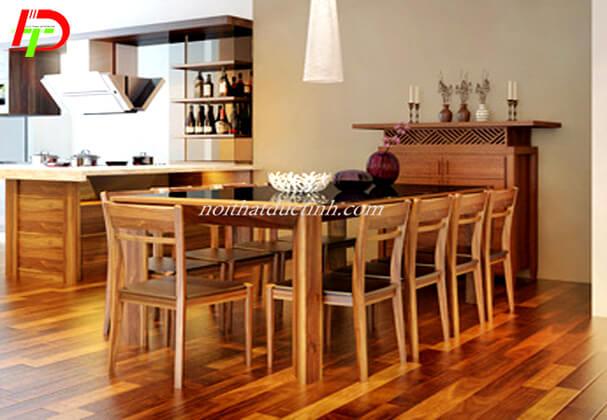 Bàn ghế ăn gỗ sồi BA29