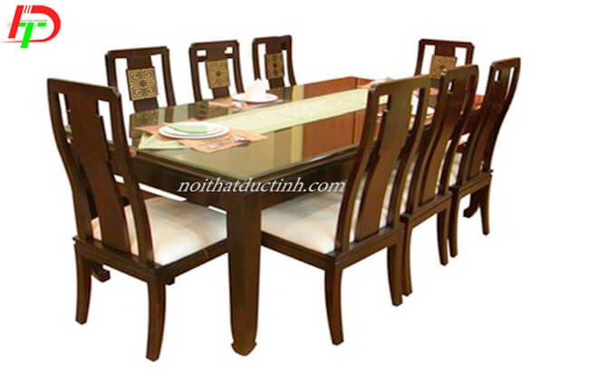 Bàn ăn ghế gỗ BA48