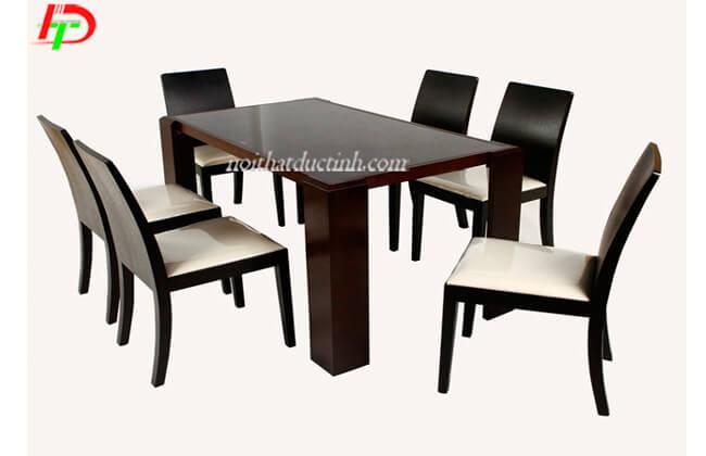 Bàn ghế ăn hiện đại BA51