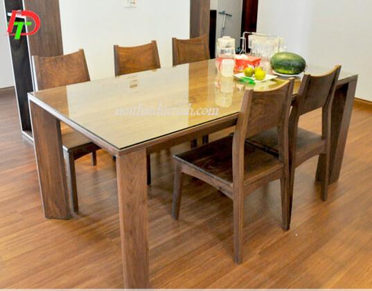 Bàn ghế ăn gỗ BA67