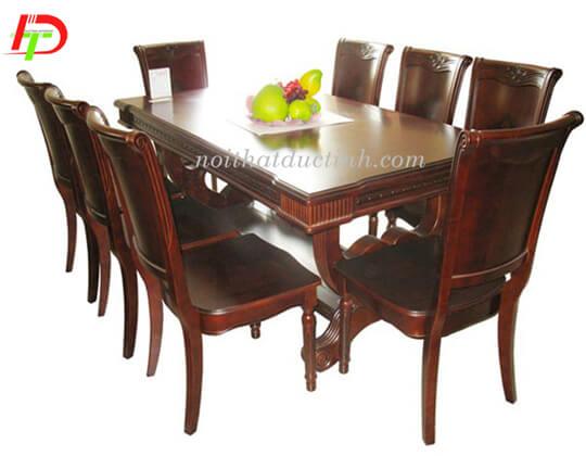 Bàn ghế ăn gỗ tự nhiên BA54
