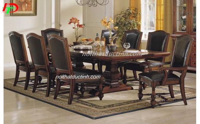 Bàn ghế ăn cổ điển BA52