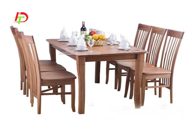 Bàn ghế ăn gỗ BA56