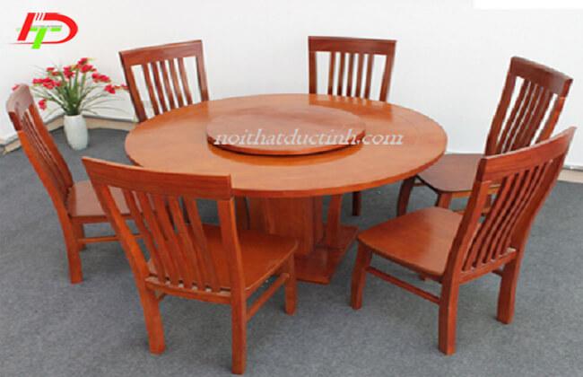 Bàn ghế ăn tròn BA60