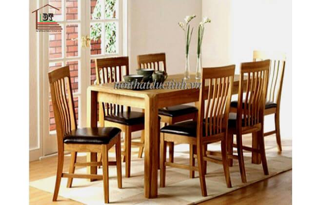 Bộ bàn ăn 6 ghế BA10