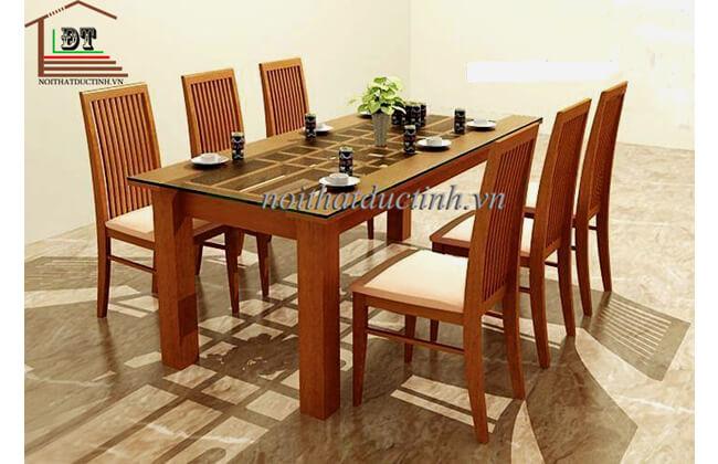 Bộ bàn ăn gỗ BA01