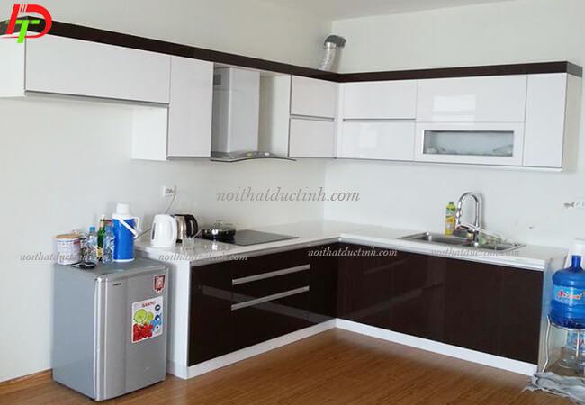Tủ bếp hiện đại gỗ công nghiệp cao cấp TB27