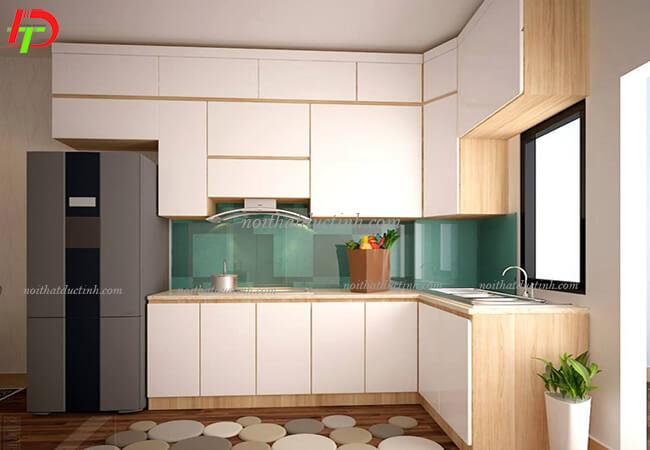 Tủ bếp hiện đại TB03