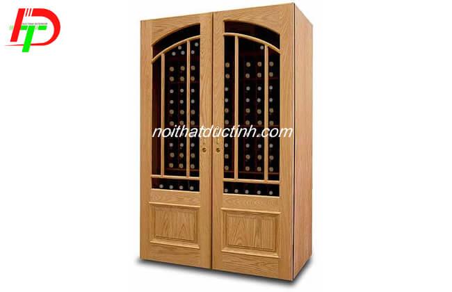 Tủ rượu gỗ sồi TR13