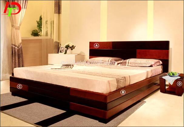 Giường ngủ gỗ GN40
