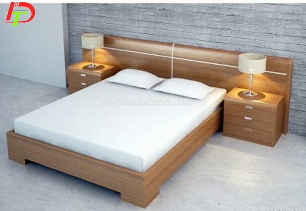 Mẫu giường gỗ đẹp GN39