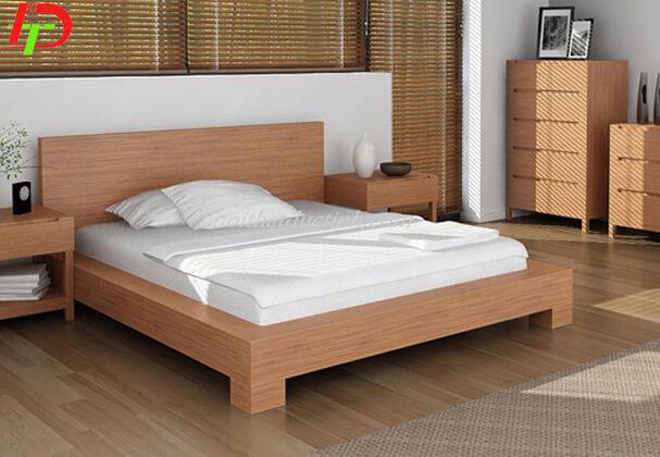 Giường ngủ gỗ xoan đào GN56