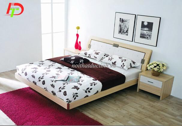 Giường gỗ sồi GN35
