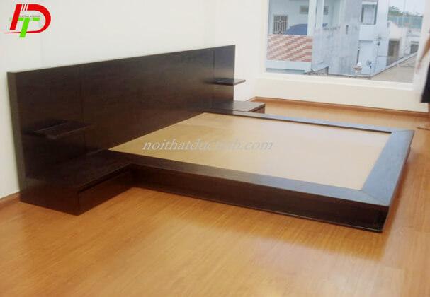 Giường gỗ tự nhiên GN09