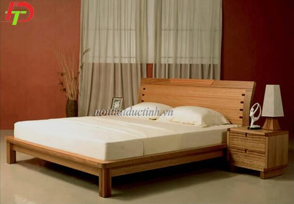 Giường ngủ gỗ sồi nga GN12