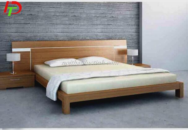Mẫu giường ngủ gỗ tự nhiên GN38