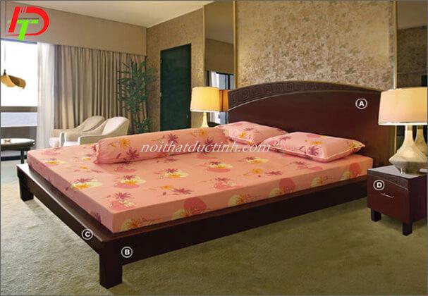 Giường gỗ đẹp GN62