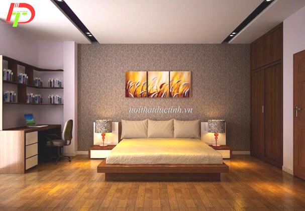 Giường ngủ đẹp kiểu nhật GN18