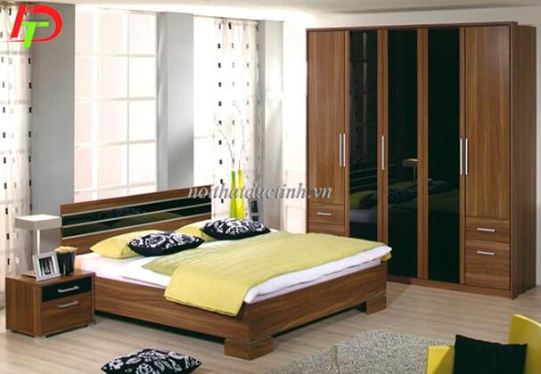 Mẫu giường ngủ gỗ công nghiệp GN25