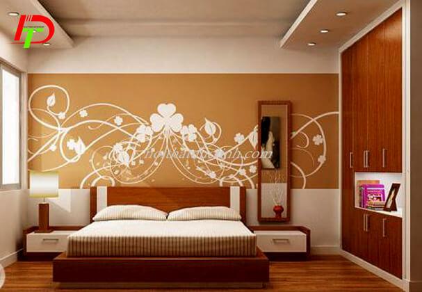 Giường ngủ gỗ công nghiệp hiện đại GN44