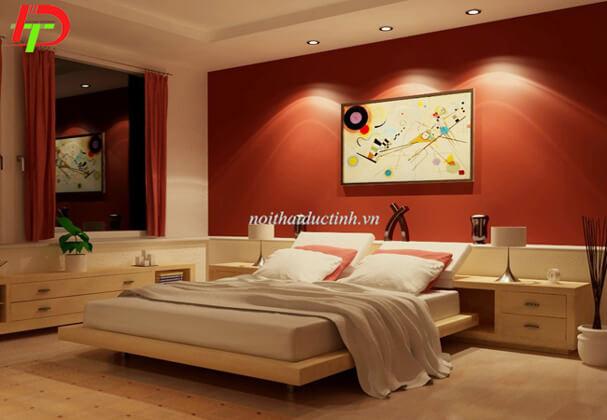Giường ngủ gỗ GN06