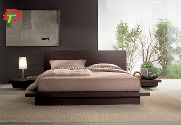 Giường ngủ hiện đại kiểu nhật GN42