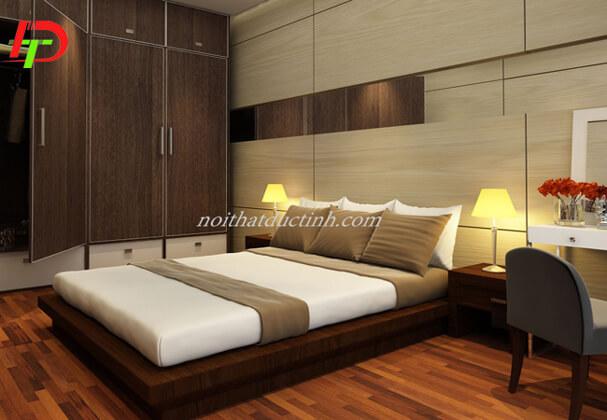 Mẫu giường ngủ kiểu nhật đẹp GN41
