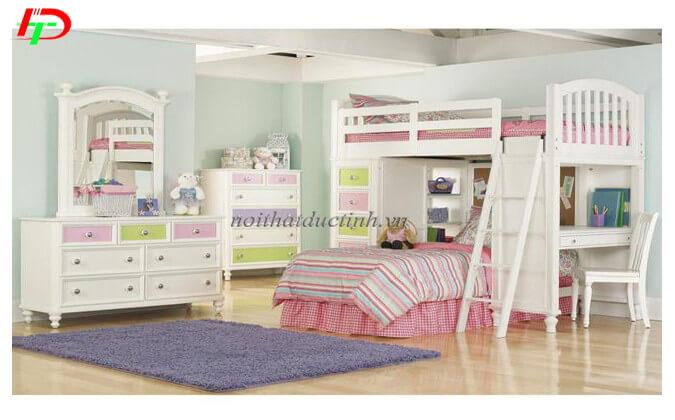Giường tầng bé gái GNTE08