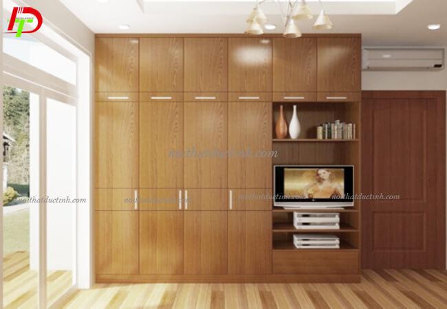 Tủ quần áo gỗ công nghiệp TA07