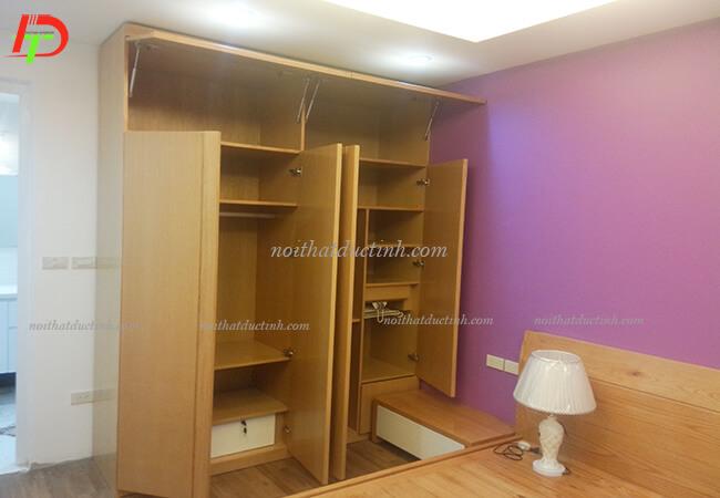 Tủ quần áo gỗ công nghiệp tiện dụng TA13