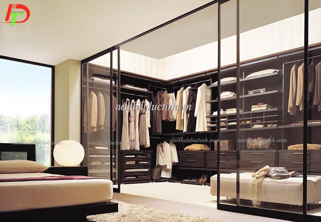 Tủ quần áo hiện đại hình chữ U TA11