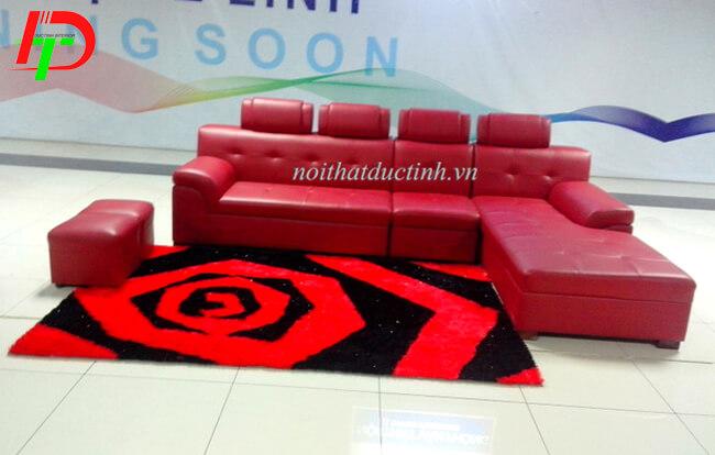 Mẫu sofa da cao cấp phòng khách SF44