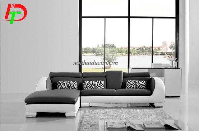 Sofa da cao cấp phòng khách SF50