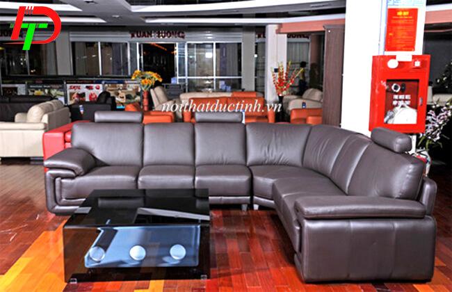 Mẫu sofa da thật cao cấp SF56