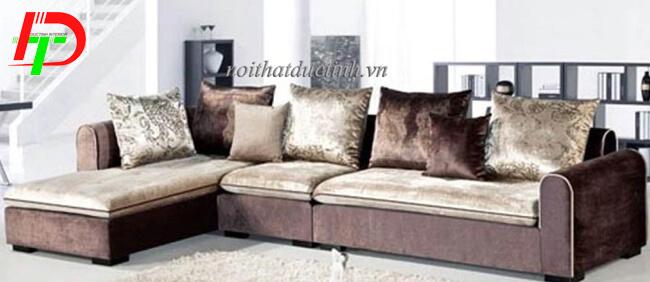 Sofa nỉ phòng khách SF07