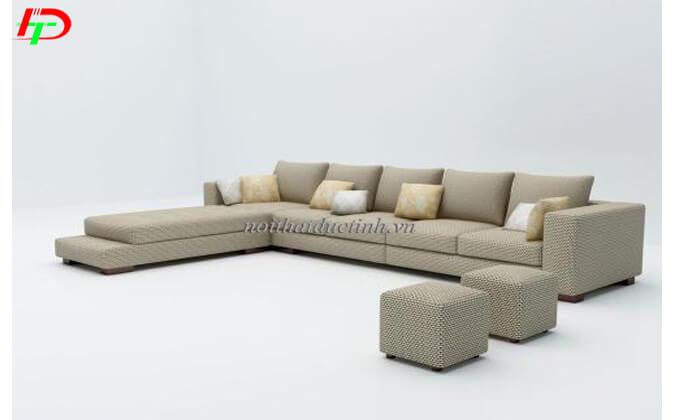 Sofa nỉ phòng khách SF55