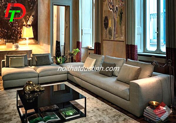 Sofa nỉ góc đẹp nhập khẩu SF43