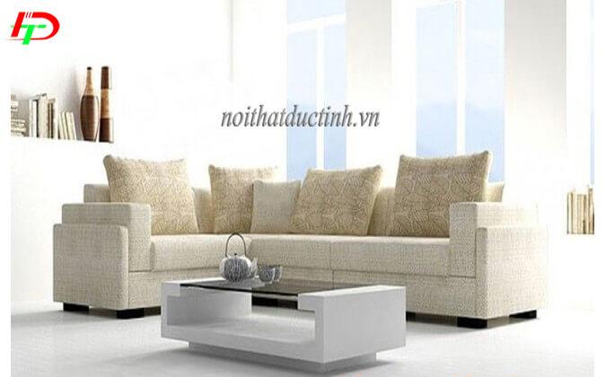 Bàn ghế sofa nỉ phòng khách SF27