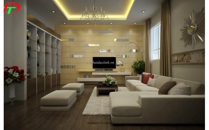 Sofa nỉ đẹp phòng khách SF58