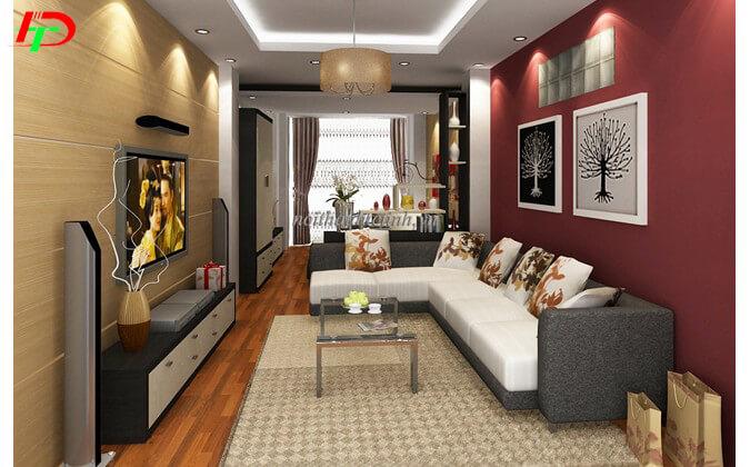 Sofa nỉ phòng khách SF54