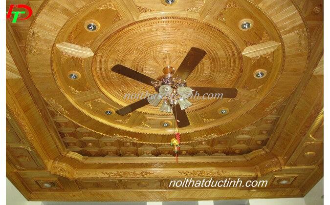 Trần gỗ tự nhiên TGTN01