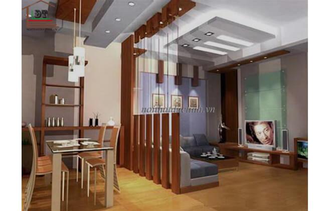 Vách ngăn phòng khách và phòng bếp VNP07