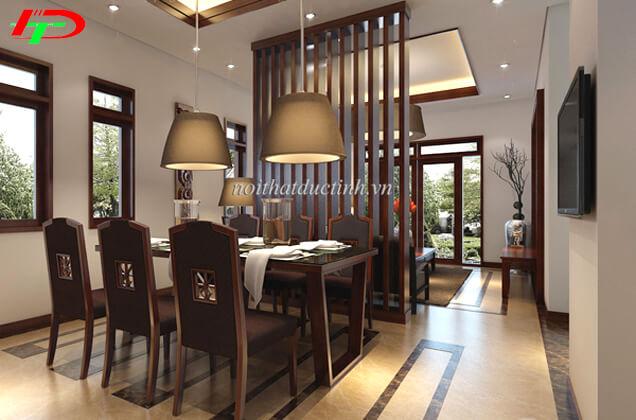 Vách ngăn phòng khách và phòng bếp VNP25