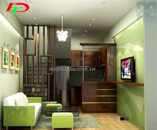 Vách ngăn phòng khách và phòng bếp VNP31