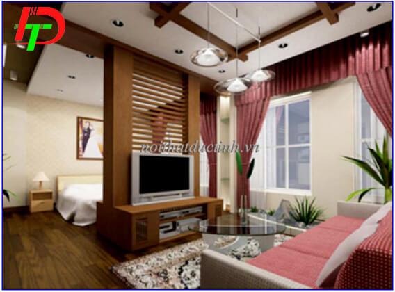 Vách ngăn phòng khách và phòng ngủ VNP18